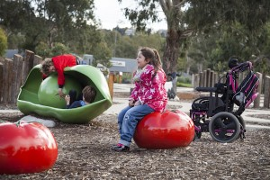 Outdoor play at Brimbank Park